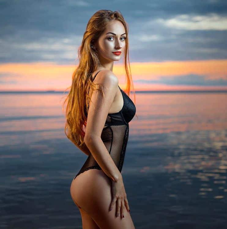 hot latvian woman